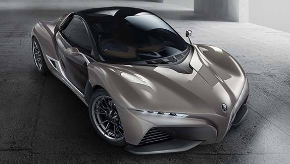 The Yamaha Sport Ride concept that debuted at the 2015 Tokyo Motor show was built using the iStream concept