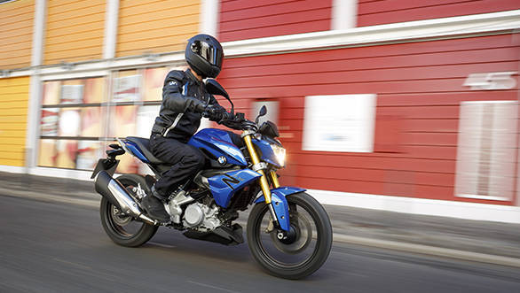 BMW promises a swift but effortless urban premium motorcycle with the G 310 R