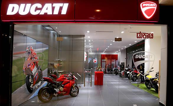 Ducati showroom Bangalore (2)
