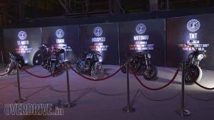 Harley Rock Riders 2015: Motorcycles at the Custom Champion contest