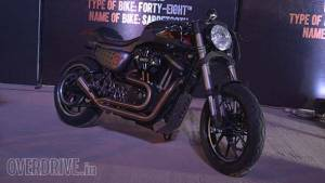 Image Gallery: Custom motorcycles at Harley Rock Riders 2015