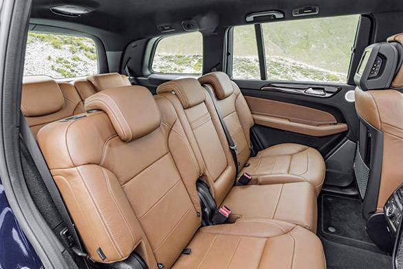 GLS 350 d 4MATIC, Interieur: Leder sattelbraun/schwarz,  interior: leather saddle brown,