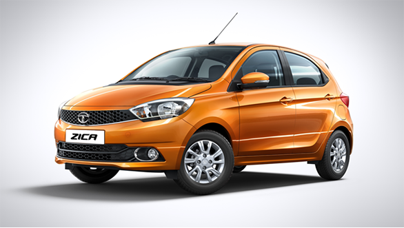 The Tata Zica has got a prominent shoulder line while the window profile is almost like the Ford Figo