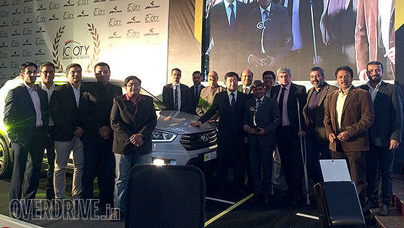 Indian Car of the Year 2016 jury members pose with all the cars launched in 2015 that were in contention for the IMOTY. The jury was led by Bob Rupani, consulting editor, OVERDRIVE. Other members include OVERDRIVE's editor in chief Bertrand D'Souza and road test editor, Bob Rupani, Yogendra Pratap (Auto Today), Rahul Ghosh (Auto Today), Dhruv Behl (Auto X), Ishan Raghava (Auto X), Rohin Nagrani (Motoring World), Aspi Bhathena (Car India), Aninda Sarda (Car India),  Girish Karkera (BBC Top Gear), Sirish Chandran (Evo India), Ouseph Chacko (Evo India), Muralidhar Swaminathan (The Hindu Business Line) and Pablo Chaterji (Mans World)