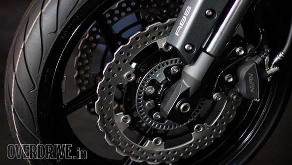 The 2015 Kawasaki Versys 650 gets ABS as standard