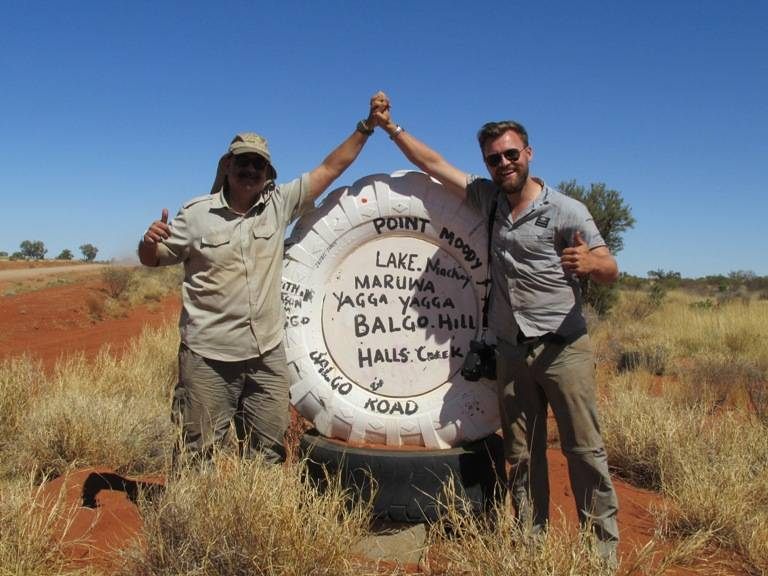 Caught up with Henning- my German co-driver on the 2013 expedition from Berlin to Bombay