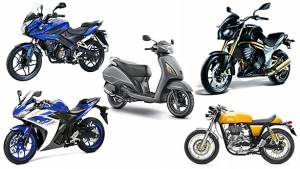 Two-wheeler sales in India for November 2015