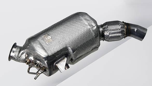 BMW EfficientDynamics Diesel particulate filter (04/2011)