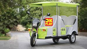 Plastics company, OK Play, announces plans of developing e-rickshaws in India