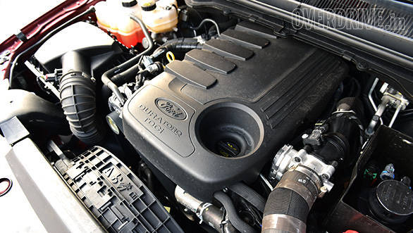 The 2.2-litre TDCi motor makes 160PS of power at 3,200 rpm and generates 385Nm of torque.  The larger displacement 3.2-litre TDCi engine churns out 200PS and 470Nm of torque