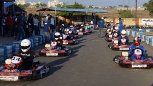 IndiKarting Pune KartPrix: Aaroh Ravindra continues to dominate the Pro category