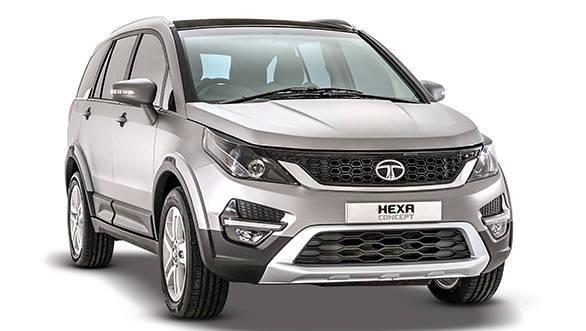 Tata Hexa Concept