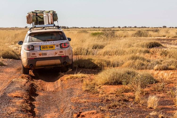 You had to keep a sharp lookout for ruts. One Range Rover Discovery Sport broke its suspenion when the driver hit a rut at high speed.