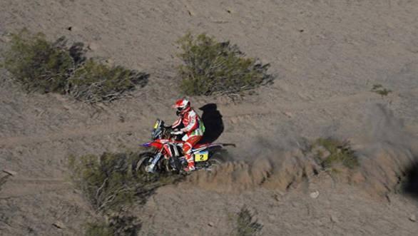 2016 Dakar Paulo Goncalves Stage 9