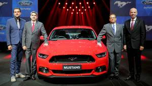 Ford unveils the 2016 Mustang in India