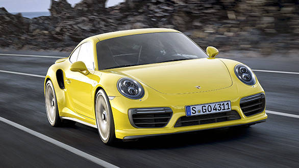 Revised intake, higher fuel pressure and new turbos (Turbo S) help boost power on the 911 Turbo and Turbo S
