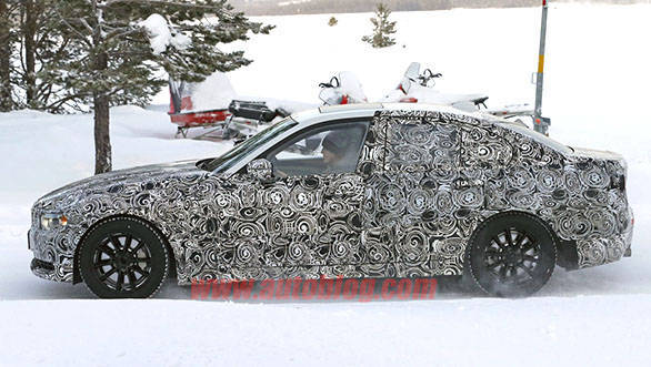 The new 3 Series should continue the traditional BMW long bonnet, short rear design philosophy