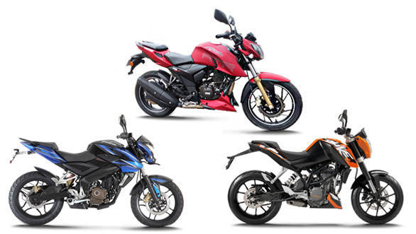 Remarkable Spec Comparo Tvs Apache Rtr 200 Vs Bajaj Pulsar 200Ns Vs Gmtry Best Dining Table And Chair Ideas Images Gmtryco