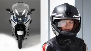 CES 2016: BMW Motorrad showcases laser headlight technology and HUD helmet