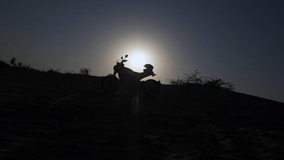 Ducati Scrambler Silhouette