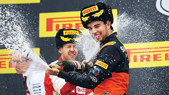 Sahara Force India and Sergio Perez