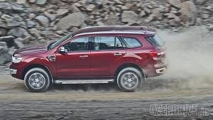 Ford Endeavour manual variants discontinued in India