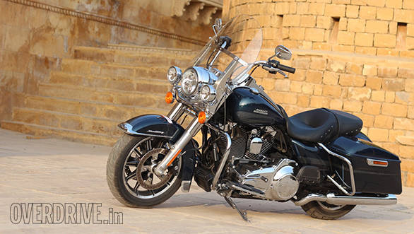 The 2016 Harley-Davidson Road King has many refinements and updates includes fatter 43mm forks and air-adjustable rear shocks
