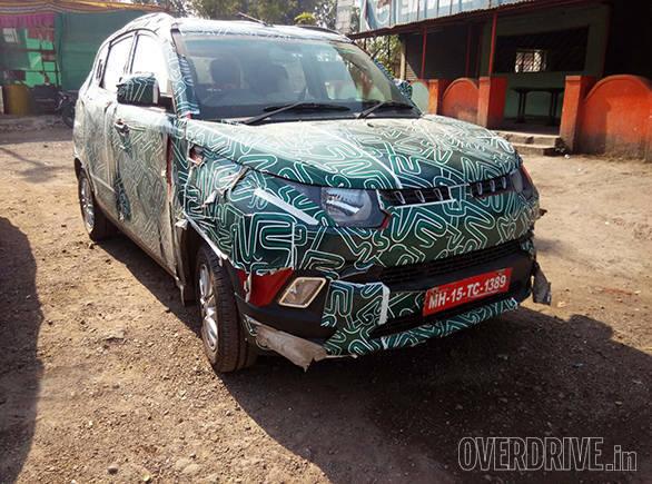 Mahindra KUV 100 Spied (1)