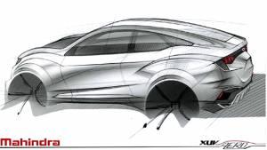 2016 Auto Expo: Mahindra XUV Aero concept design sketch teased
