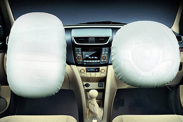 Maruti Swift Dzire dual airbags