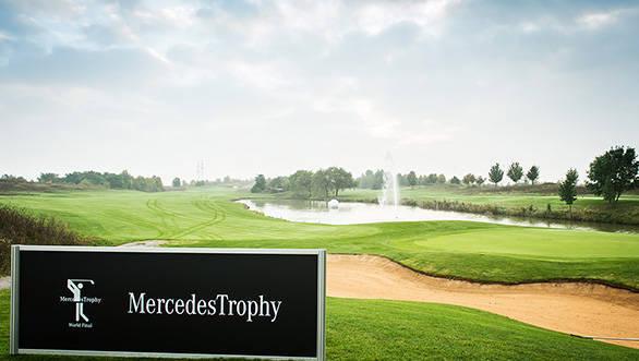 Mercedes-Benz Golf-Mercedes Trophy 2015