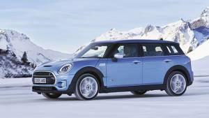 All-wheel drive Mini Cooper Clubman All4 unveiled