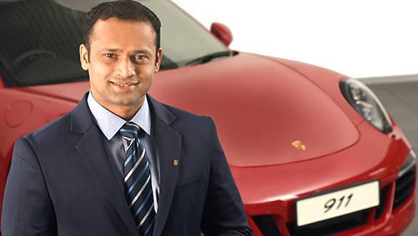 Pavan Shetty Porsche