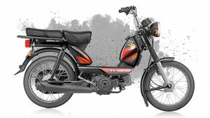 TVS XL 100 moped launched in India at Rs 29,539