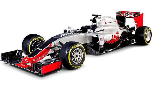 2016 Formula 1 Haas VF-16