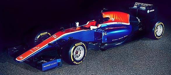 Motor Racing - Manor Racing MRT05 Reveal -  Barcelona, Spain
