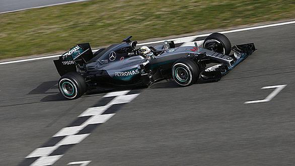 2016 Formula 1 Mercedes W07