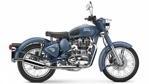 Royal Enfield introduce new Squadron Blue colour for the Classic 500