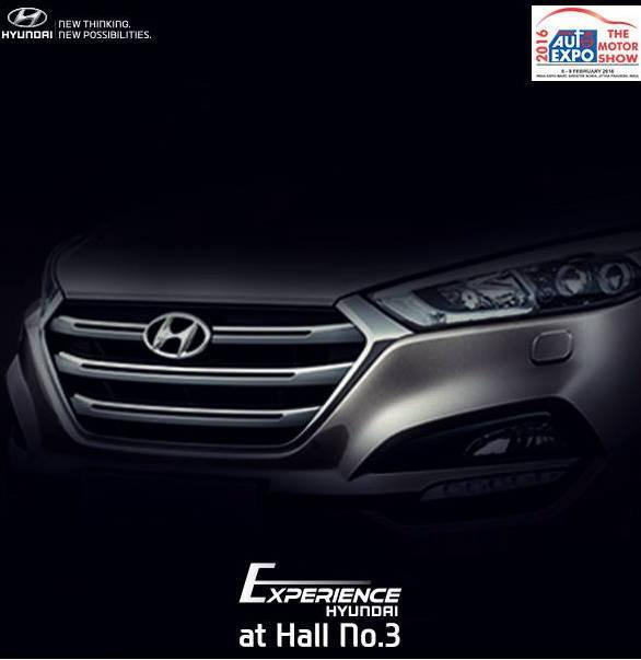 Hyundai Tuscon Teased