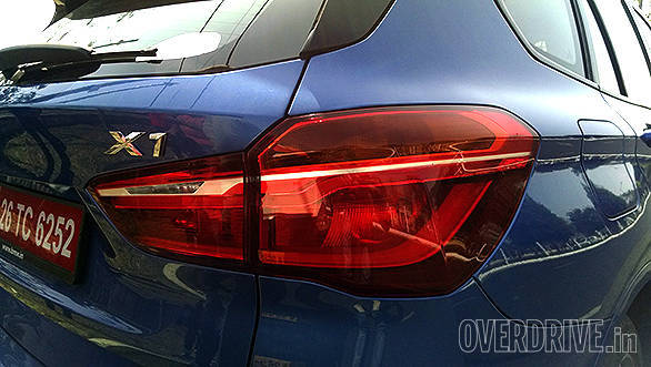 Smart wrap around LED lamps at the rear follow a similar theme to the head lamps