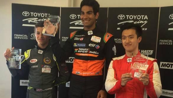 Jehan Daruvala Taupo Toyota Racing Series 2016 2