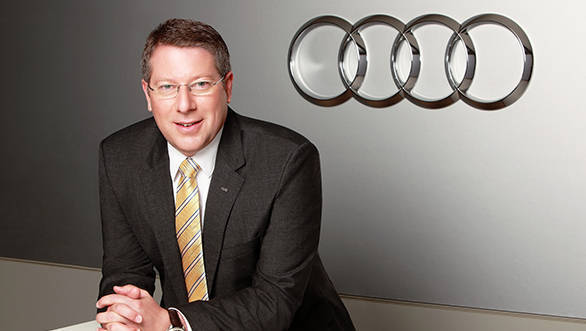 Mr. Joe King, Head, Audi India