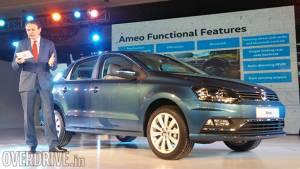 2016 Auto Expo: Volkswagen Ameo sub-4m sedan for India revealed