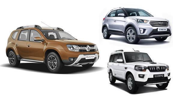 2016 Renault DusterVsHyundai CretaVsMahindra Scorpio