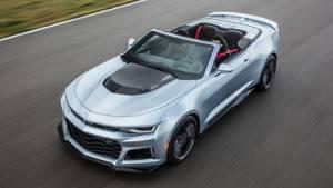 2016 New York International Auto Show: Chevrolet unveil the Camaro ZL1 Convertible