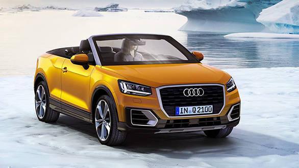 Audi Q2 convertible