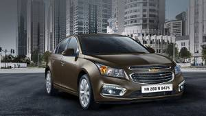 2016 Chevrolet Cruze launched in India in new Burnt Coconut colour
