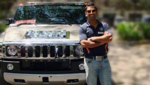 MS Dhoni fined for registering his Hummer H2 as Scorpio in Ranchi