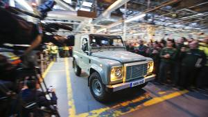 Land Rover Defender 90 now a part of Land Rover Experience fleet in US