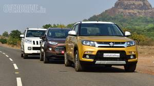 Comparo: Maruti Suzuki Vitara Brezza vs Mahindra TUV300 vs Ford EcoSport